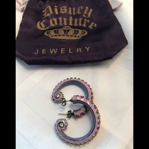 Disney couture earrings